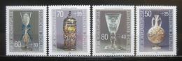 Poštovní známky Nìmecko 1986 Výrobky ze skla Mi# 1295-98 Kat 5€