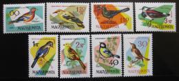 Poštovní známky Maïarsko 1961 Ptáci Mi# 1808-15