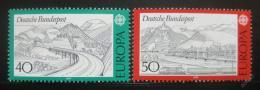 Poštovní známky Nìmecko 1977 Evropa CEPT Mi# 934-35
