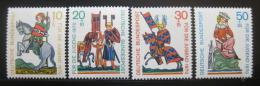 Poštovní známky Nìmecko 1970 Lyriètí básníci Mi# 612-15