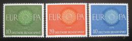 Poštovní známky Nìmecko 1960 Evropa CEPT Mi# 337-39