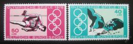 Poštovní známky Nìmecko 1976 LOH Montreal Mi# 886-87 Kat 3.50€