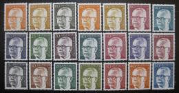 Poštovní známky Nìmecko 1970-73 Prezident Heinemann komplet Kat 35€
