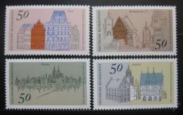 Poštovní známky Nìmecko 1975 Mìsta Mi# 860-63