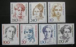 Poštovní známky Nìmecko 1988 Slavné ženy, kompletní roèník