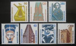 Poštovní známky Nìmecko 1988 Historické objekty, kompletní roèník