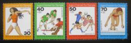 Poštovní známky Západní Berlín 1976 Sporty Mi# 517-20