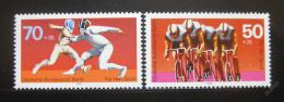 Poštovní známky Západní Berlín 1978 Sporty Mi# 567-68