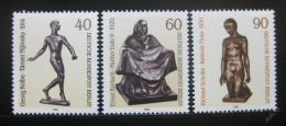 Poštovní známky Západní Berlín 1981 Sochy Mi# 655-57