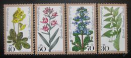 Poštovní známky Západní Berlín 1978 Lesní kvìtiny Mi# 573-76