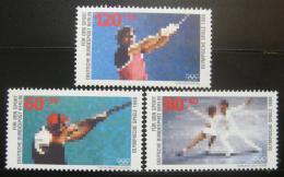 Poštovní známky Západní Berlín 1988 Sporty Mi# 801-03 Kat 6€