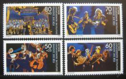 Poštovní známky Západní Berlín 1988 Hudba Mi# 807-10 Kat 8.50€