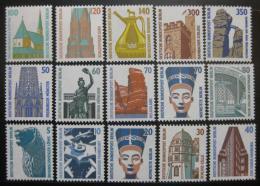 Poštovní známky Západní Berlín 1987-90 Historická místa Kat 44.80€