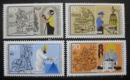 Poštovní známky Západní Berlín 1987 Profese Mi# 780-83 Kat 6.50€