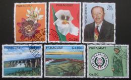Poštovní známky Paraguay 1983 Volba prezidenta Mi# 3692-97