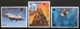 Poštovní známky Paraguay 1984 Prùzkum vesmíru Mi# 3706-08