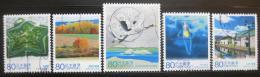 Poštovní známky Japonsko 2008 Scény z Hokkaido Mi# 4534-38