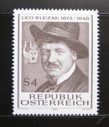 Poštovní známka Rakousko 1973 Leo Slezak, operní pìvec Mi# 1419