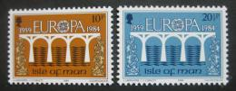Poštovní známky Ostrov Man 1984 Evropa CEPT Mi# 261-62