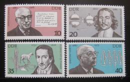 Poštovní známky DDR 1977 Osobnosti Mi# 2199-2202