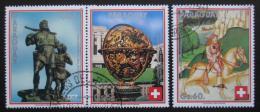 Poštovní známky Paraguay 1990 Švýcarská konfederace Mi# 4456-58