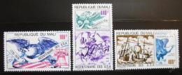 Poštovní známky Mali 1976 Americká revoluce Mi# 532-34