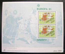 Poštovní známky Madeira 1981 Evropa CEPT Mi# Block 2