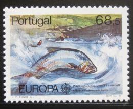Poštovní známka Portugalsko 1986 Evropa CEPT, ryba Mi# 1690