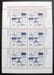 Poštovní známky Portugalsko 1985 Okrasné kachlièky Mi# 1675