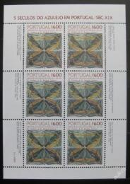 Poštovní známky Portugalsko 1984 Okrasné kachlièky Mi# 1644