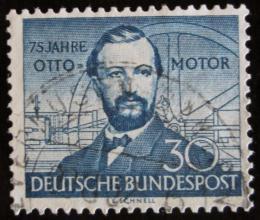 Poštovní známka Nìmecko 1952 N. A. Otto Mi# 150 Kat 16€