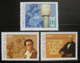 Poštovní známky Portugalsko 1986 Výroèí Mi# 1696-98