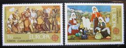Poštovní známky Turecko 1975 Evropa CEPT Mi# 2355-56