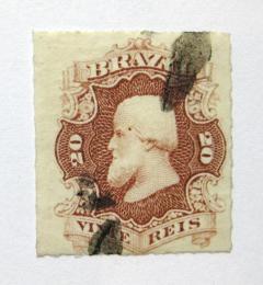 Poštovní známka Brazílie 1877 Don Pedro Mi# 31 Kat 40€