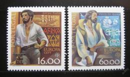 Poštovní známky Portugalsko 1980 Evropa CEPT Mi# 1488-89