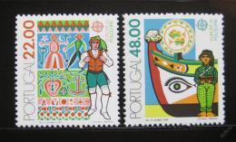 Poštovní známky Portugalsko 1981 Evropa CEPT Mi# 1531-32