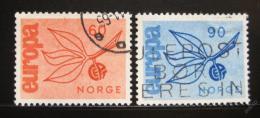 Poštovní známky Norsko 1965 Evropa CEPT Mi# 532-33