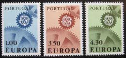 Poštovní známky Portugalsko 1967 Evropa CEPT Mi# 1026-28 Kat 25€