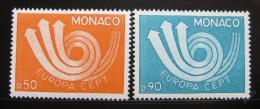 Poštovní známky Monako 1973 Evropa CEPT Mi# 1073-74