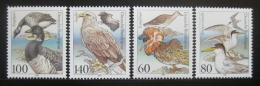 Poštovní známky Nìmecko 1991 Ptáci Mi# 1539-42 Kat 6.50€