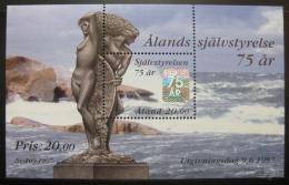 Poštovní známka Alandy 1997 Výroèí autonomie Mi# Block 3