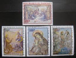 Poštovní známky Dahomey 1968 Umìní Mi# 364-67