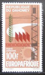 Poštovní známka Dahomey 1966 Symboly prùmyslu Mi# 281
