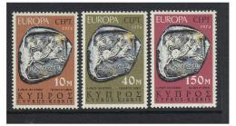 Poštovní známky Kypr 1974 Evropa CEPT Mi# 409-11
