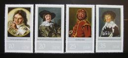 Poštovní známky DDR 1980 Umìní, Frans Hals Mi# 2543-46