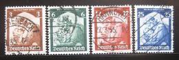 Poštovní známky Nìmecko 1935 Návrat Sárska Mi# 565-68