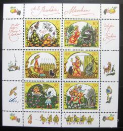 Poštovní známky DDR 1984 Pohádky Mi# 2914-19 Kat 13€