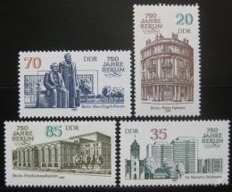 Poštovní známky DDR 1987 Architektura, Berlín Mi# 3071-74