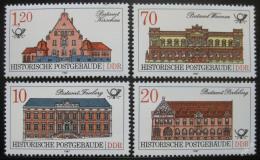 Poštovní známky DDR 1987 Historické pošty Mi# 3067-70