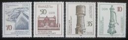 Poštovní známky DDR 1986 Vodní monumenty Mi# 2993-96